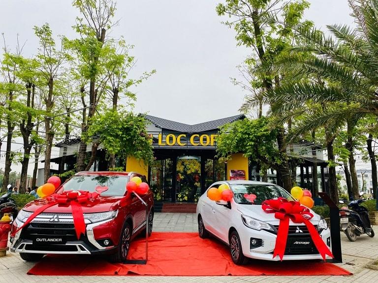 Lễ trao xe Attrage và Outlander của Mitsubishi Quảng Bình
