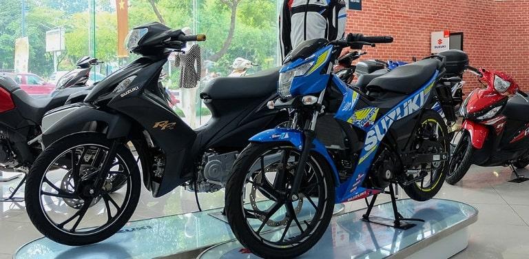 Xe máy Suzuki gắn liền với người dân Việt Nam