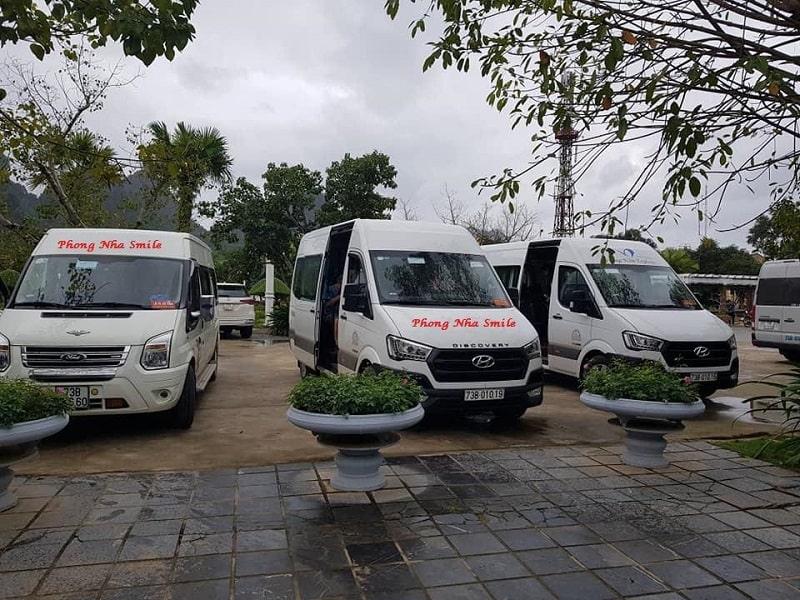 Phong Nha Smile Travel thuê xe Quảng Bình