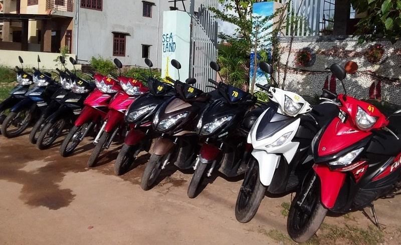 Dong Hoi Motorbike Rental- thuê xe Quảng Bình