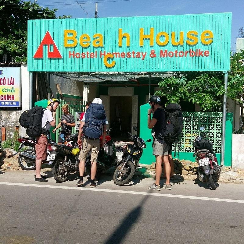 Dịch vụ cho thuê xe máy Beach House- thuê xe Quảng Bình