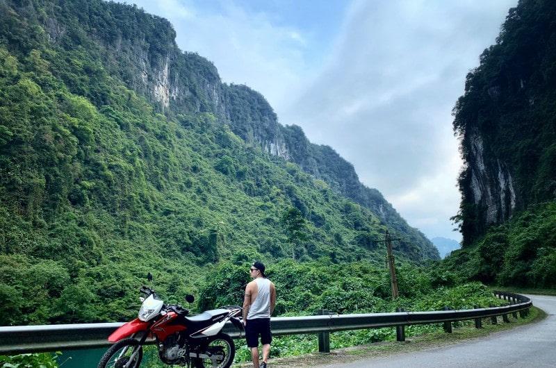 Dịch vụ cho thuê xe máy của chị Thu - thuê xe Quảng Bình