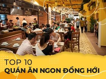 Top 10 quán ăn ngon Đồng Hới không nên bỏ qua