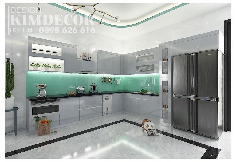 Nội thất Kim Decor mang màu sắc tươi sáng - nội thất Quảng Bình