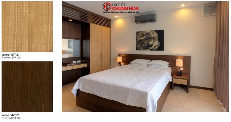 Nội thất Chung Hoa - nội thất Quảng Bình với gam màu tinh tế ấm cúng