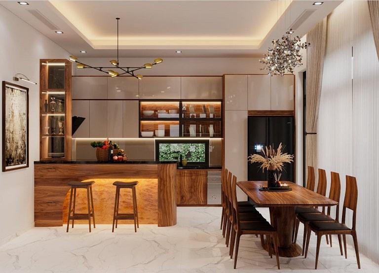 Nguyễn Sơn đem đến cho khách hàng màu sắc ấm áp, trầm tĩnh - nội thất Quảng Bình